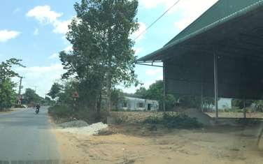 1400 m2 commercial land for sale in District Long Thanh