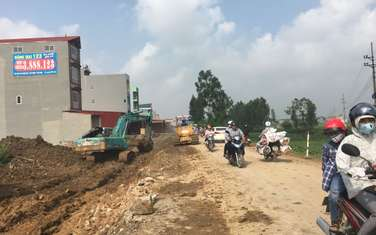 80 m2 residential land for sale in District Yen Phong