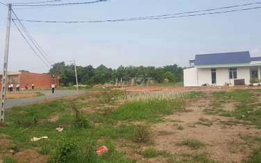 1000 m2 residential land for sale in Thi xa Dong Xoai