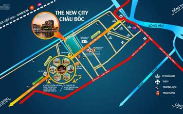 80 m2 land for sale in Thanh pho Chau Doc