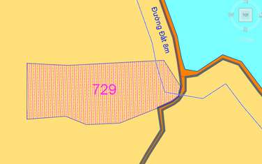 1192 m2 farm land for sale in District Cu Chi