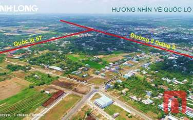 90 m2 residential land for sale in Vinh Long