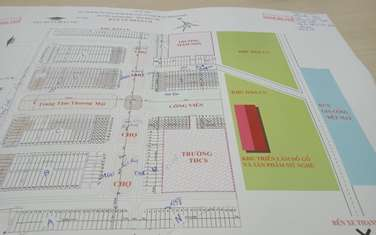 105 m2 land for sale in District Thanh Phu