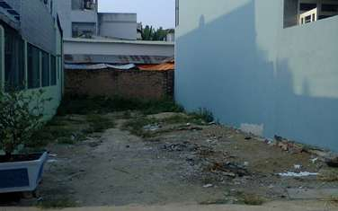 120 m2 residential land for sale in District Hoc Mon