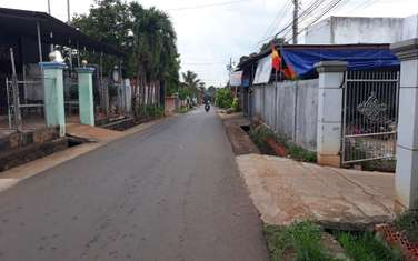 100 m2 residential land for sale in District Xuan Loc