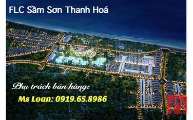 216 m2 land for sale in Thi Xa Sam Son