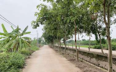 2000 m2 residential land for sale in District Thuong Tin