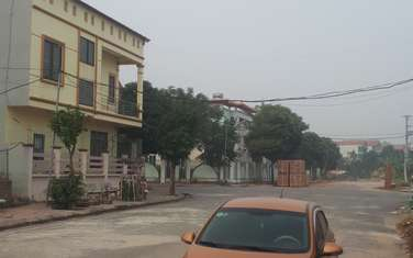 100 m2 residential land for sale in District Me Linh