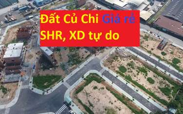 80 m2 land for sale in District Cu Chi
