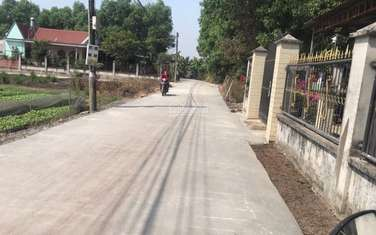 110 m2 land for sale in District Trang Bom