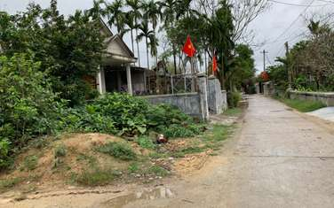 215 m2 residential land for sale in District Quang Dien