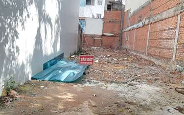 76 m2 residential land for sale in District Binh Thanh