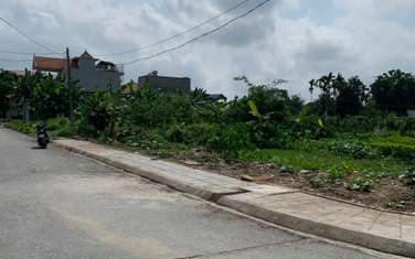 112 m2 residential land for sale in District An Duong