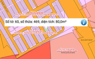 90 m2 residential land for sale in Thanh pho Bien Hoa