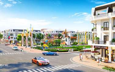 80 m2 residential land for sale in Vi Thanh