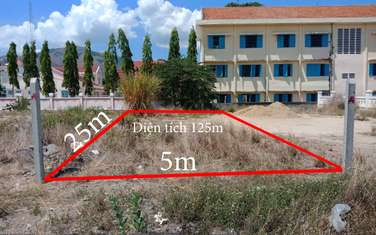 125 m2 residential land for sale in District Dien Khanh
