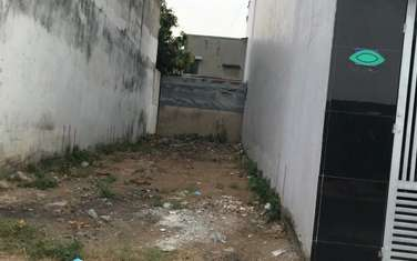 80 m2 residential land for sale in District Binh Thanh