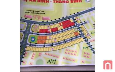 210 m2 residential land for sale in District Thang Binh