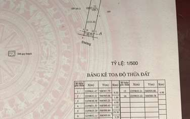 111 m2 residential land for sale in Thanh pho Nam Dinh