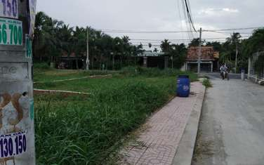 80 m2 Residential Land for sale in District Hoc Mon