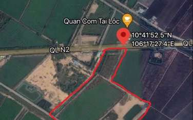 58763 m2 commercial land for sale in District Thu Thua
