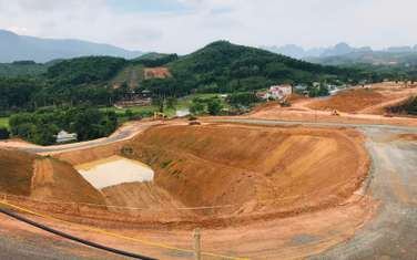 300 m2 land for sale in District Luong Son