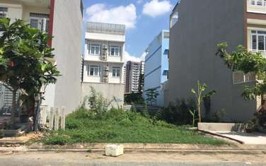 100 m2 residential land for sale in District Long Thanh