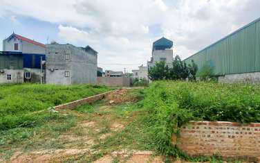 119 m2 residential land for sale in District Quoc Oai