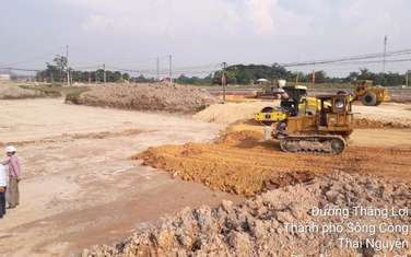 96 m2 residential land for sale in Thi xa Song Cong