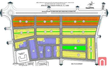 135 m2 residential land for sale in District Tuy Phong
