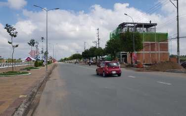 81 m2 residential land for sale in Vi Thanh