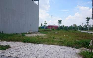 80 m2 residential land for sale in Thi xa Song Cong