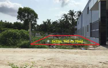 100 m2 residential land for sale in District Duong Minh Chau