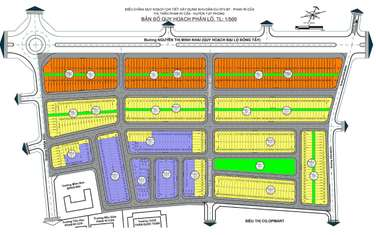 100 m2 residential land for sale in District Tuy Phong
