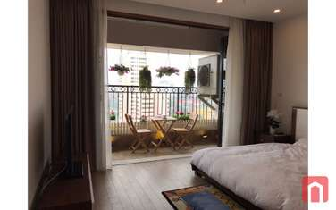 1 bedroom apartment for rent in District Ba Dinh