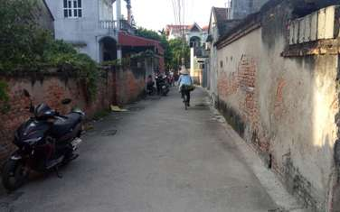 89 m2 residential land for sale in District My Hao