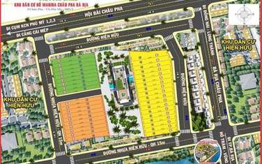 178 m2 residential land for sale in Phu My town