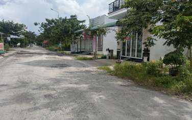 80 m2 residential land for sale in District Chau Thanh