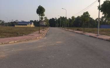 300 m2 land for sale in Thi xa Song Cong
