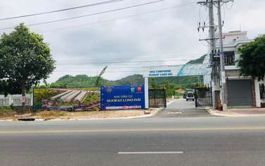 90 m2 residential land for sale in District Long Dien