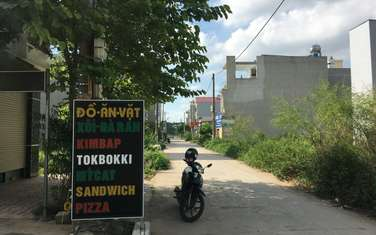 92 m2 residential land for sale in District Me Linh