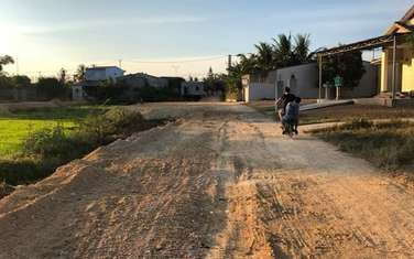 114 m2 residential land for sale in District Trieu Phong