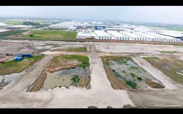 100 m2 land for sale in District Yen Phong