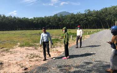 320 m2 residential land for sale in Thi xa Tay Ninh