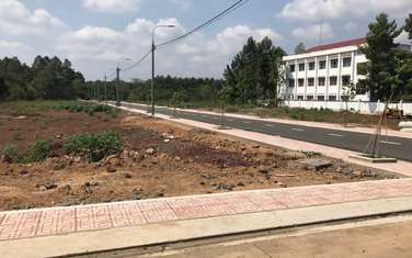 112 m2 residential land for sale in District Thong Nhat