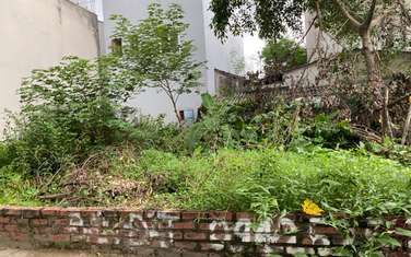 100 m2 residential land for sale in District Long Bien