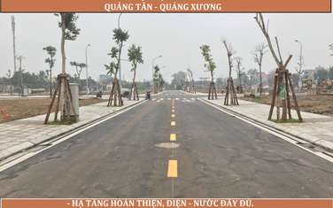 85 m2 land for sale in Huyen Quang Xuong
