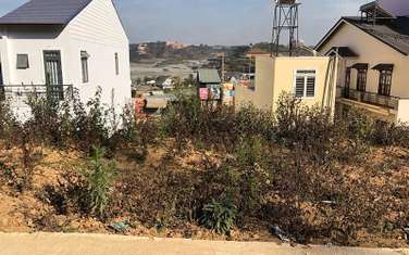 72 m2 residential land for sale in District Lac Duong