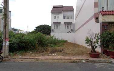 90 m2 residential land for sale in Vung Tau