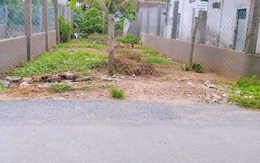 105.6 m2 residential land for sale in Ben Tre